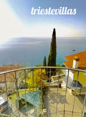 Costiera - Villa 108mq con terrazzo, vista e molo mare
