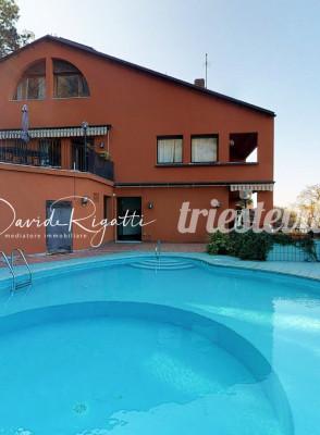 Barcola - 144mq con piscina condominiale e terrazzo